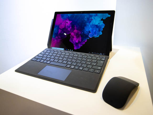 Microsoft Japan Surface Event SurfacePro6正面