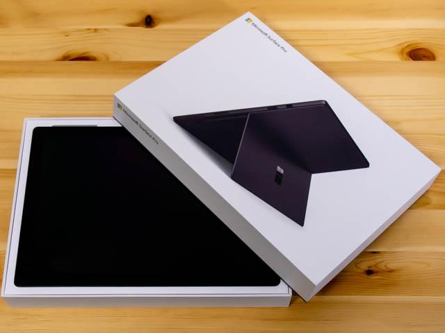 SurfacePro6 開封