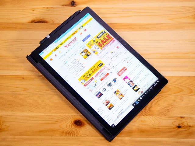 SurfacePro6 アスペクト比 タブレットモード