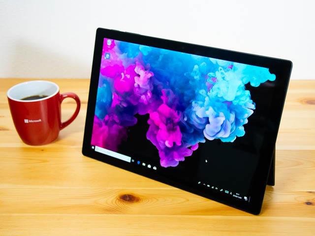 SurfacePro6 ビュー モード
