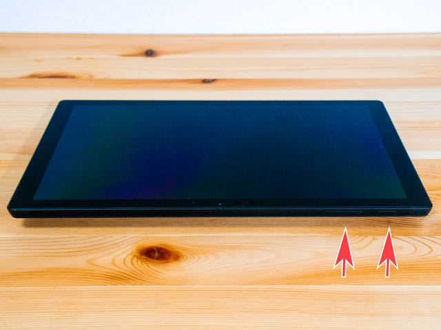 SurfacePro6 本体 上側面