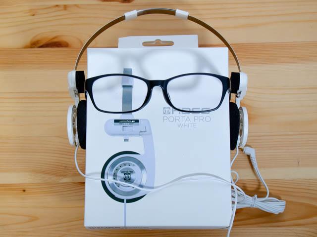 ヘッドホンは耳が痛いとあきらめていたけど、側圧の調整ができ、メガネでも大丈夫な名機があった