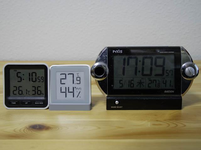 湿度計 Homidyデジタル湿度計ディスプレイ比較