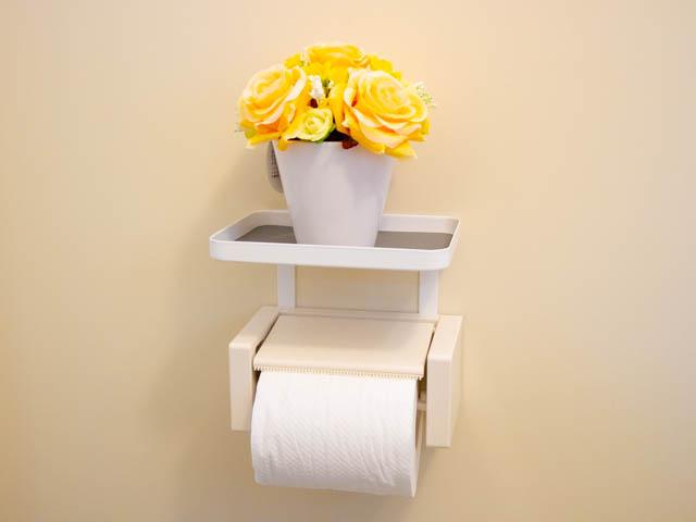 トイレ小物置き 観葉植物