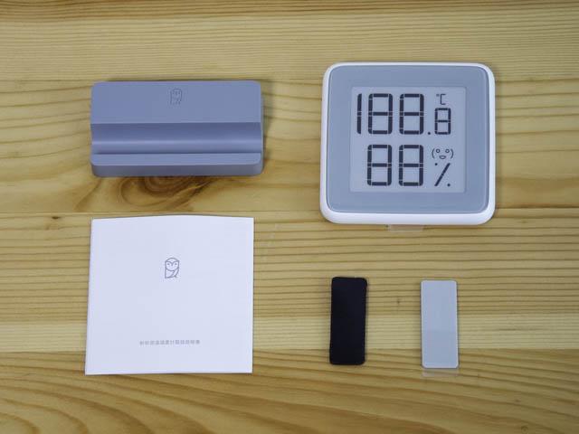湿度計 Homidyデジタル湿度計-同梱物