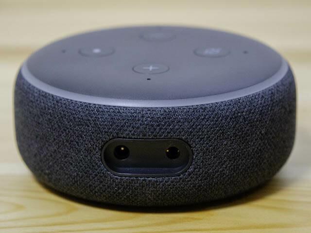 FireTVStickの音をAmazonEchoで鳴らす方法 Echo-Dot-インターフェイス