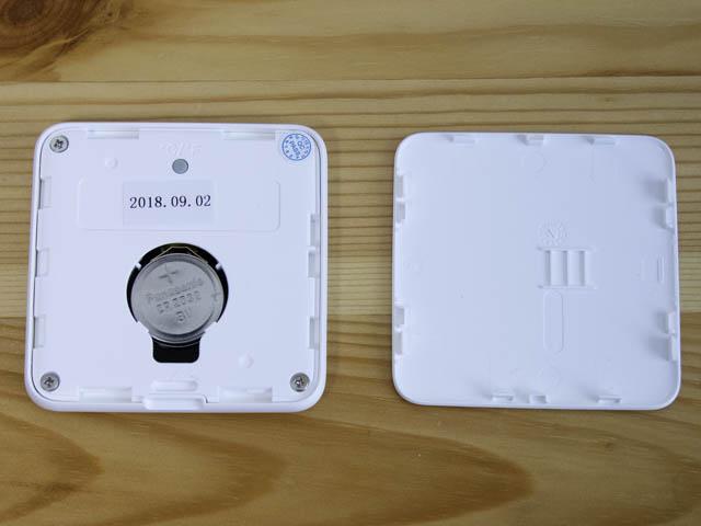湿度計 Homidyデジタル湿度計-裏蓋