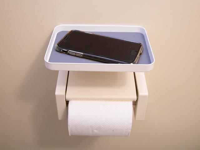 トイレ小物置き スマホ