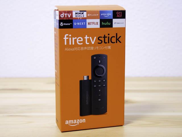 Fire-TV-Stick パッケージ