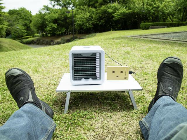 体に優しい冷風がでる卓上扇風機「ここひえ」をレビュー