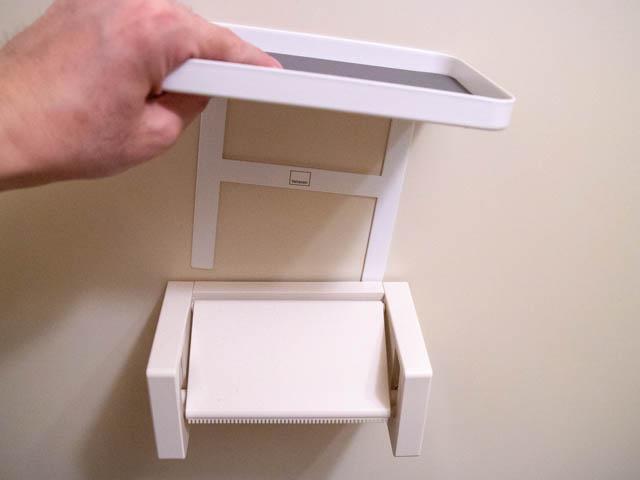 トイレ小物置き 取り付け2