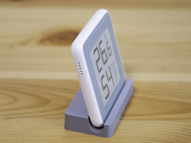 湿度計 Homidyデジタル湿度計-斜め