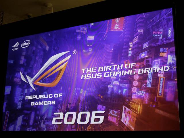 ASUS2019年ROG ROG歴史2006