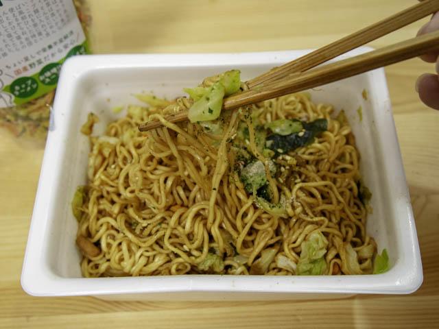 乾燥野菜 ペヤング-実食