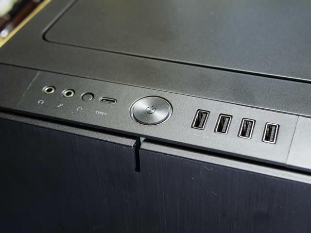 マザーボード PCケース-フロントパネル