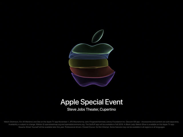 2019年9月Appleスペシャルイベント 僕が買うものは…