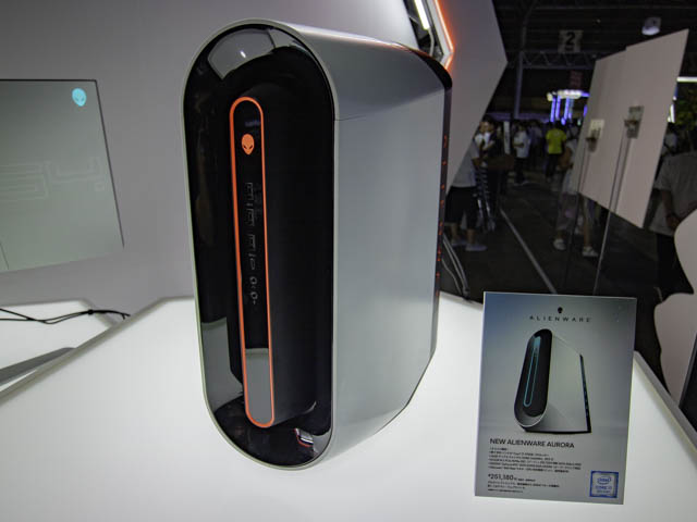 TGS2019-DELL NEW-ALIENWARE-AURORA-正面