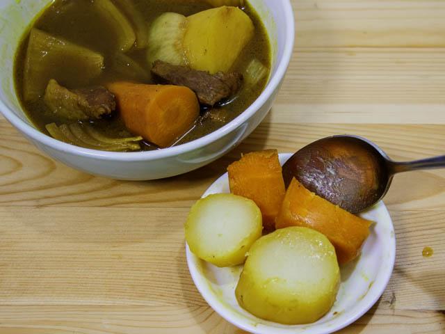 ショップジャパン-クッキングプロ スープカレー-実食