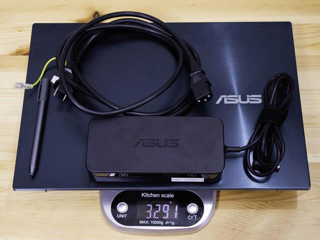 ASUS-ZenBookProDuo 重量
