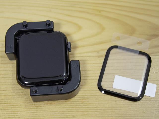 AppleWatchSeries保護ガラス 貼り付けサポート器具