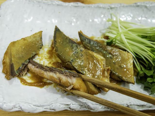 ショップジャパン-クッキングプロ サバの味噌煮-実食