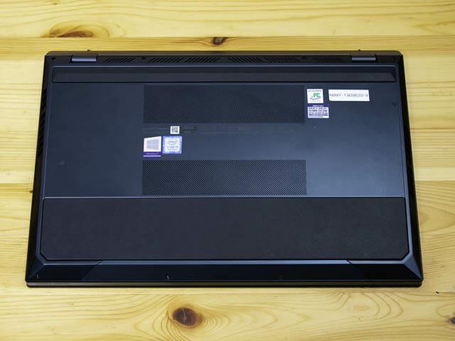 ASUS-ZenBookProDuo 底面