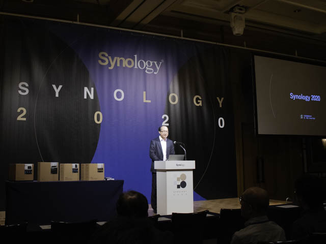 NASメーカーSynology社の新製品・新機能を発表するイベントSynology 2020に参加した