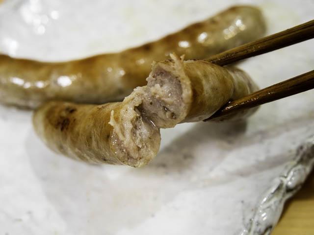 コストコ-生ソーセージ 肉汁
