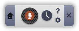 AppleWatch単体でAmazonMusicを聴く 録音パネル