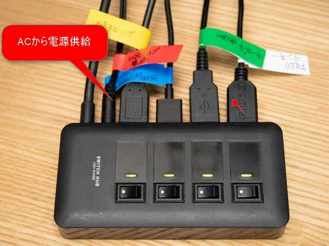 ElgatoStreamDeck USBハブ-セルフパワー