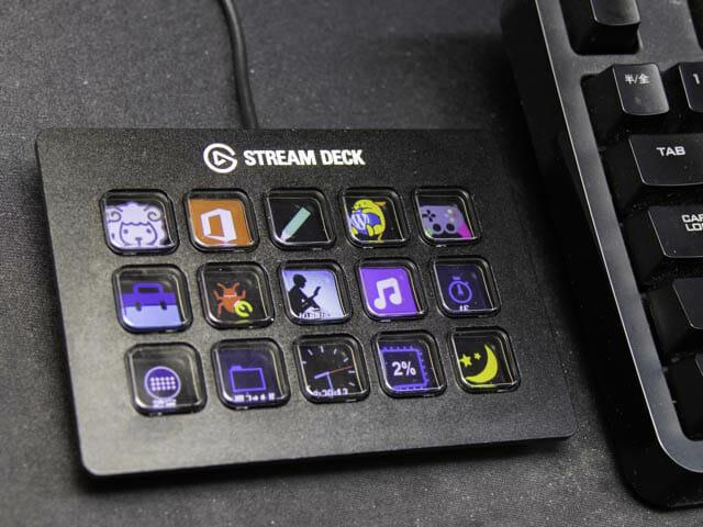 Elgato Stream Deckは机の上がカッコよくなる便利な左手デバイスのガジェット