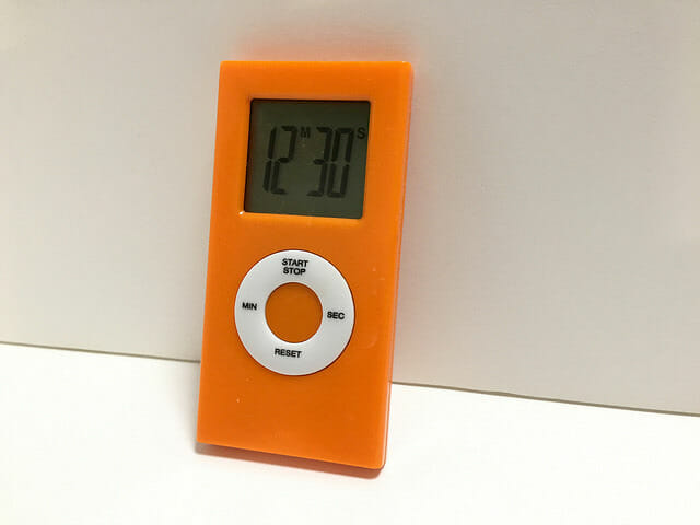 キッチンタイマー iPod nano?