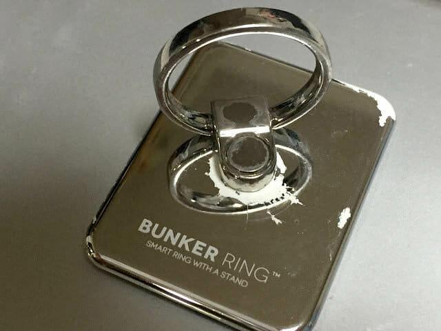 BUNKER RING 2 シルバー2代目(1年半使用)