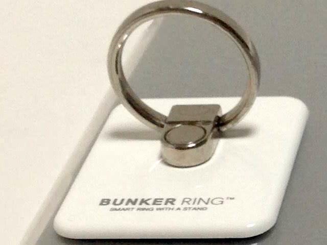 BUNKER RING 2 白 3代目