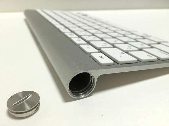 Apple Wireless Keyboard 電池