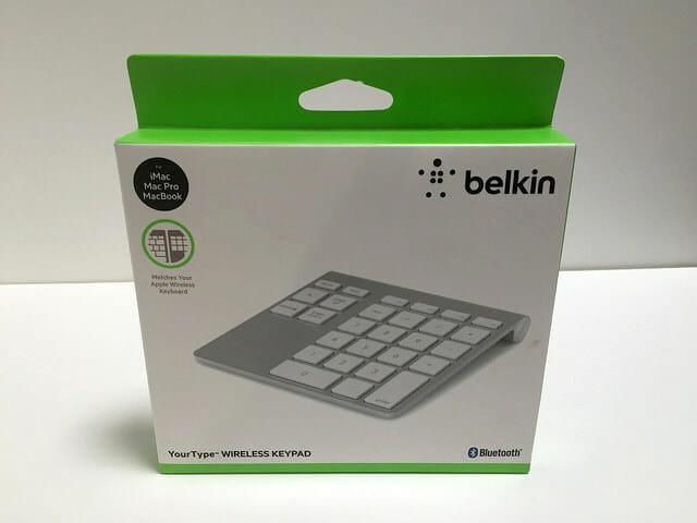 belkin YourType パッケージ