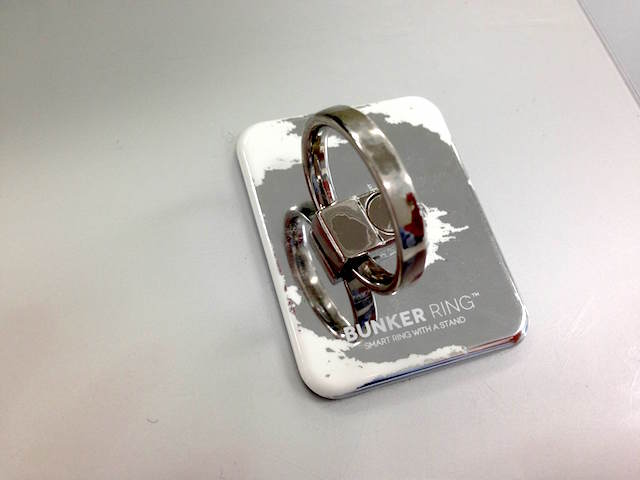 BUNKER RING 2 シルバー 半年使用