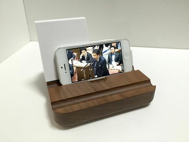 タブレット立てiPhone5