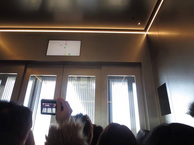 8 450mエレベーター横ガラス