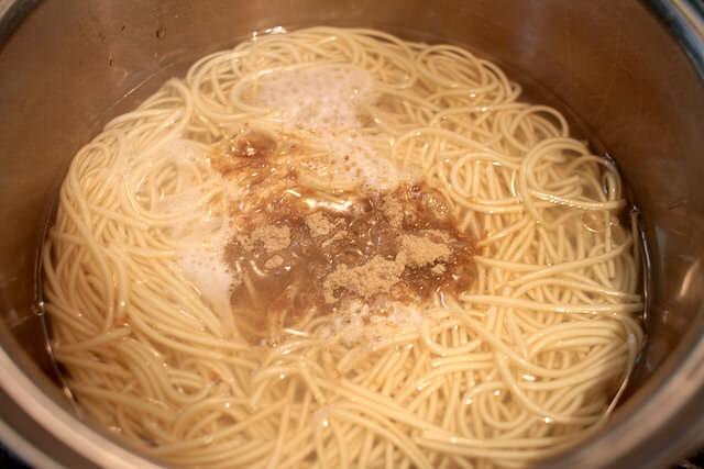 7スープ投入