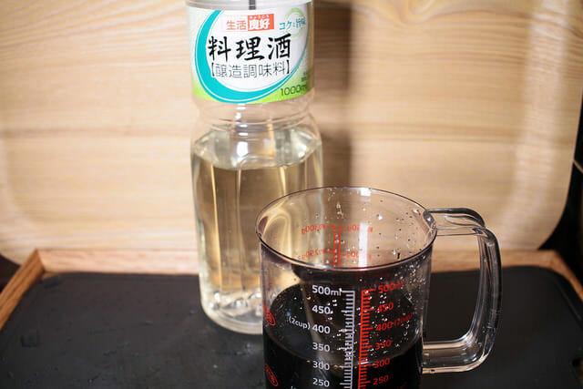5焼豚煮汁料理酒