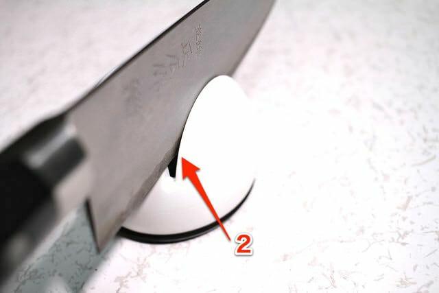 8シャープナー仕上げ刃付け