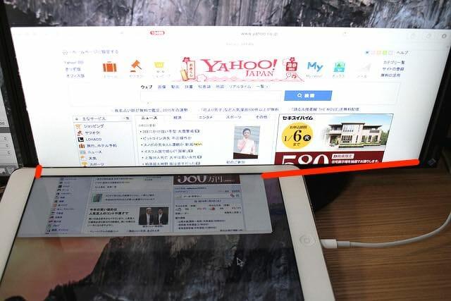 6Yahooページ表示iPad Air