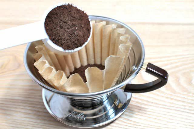 9コーヒー豆投入