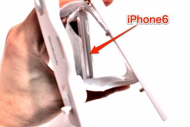 5 防水ケースiPhone6挿入