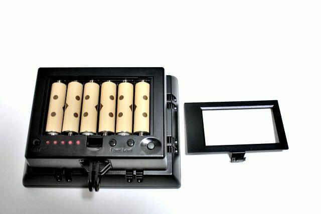 6 ライト電池装着