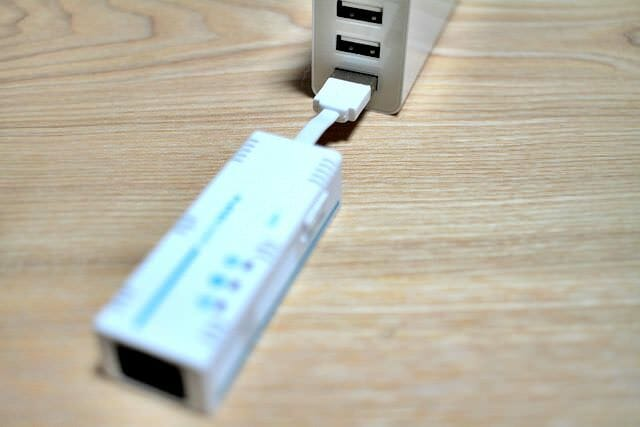 9 ちびファイ内蔵USB