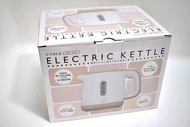 2 電気ケトル パッケージ