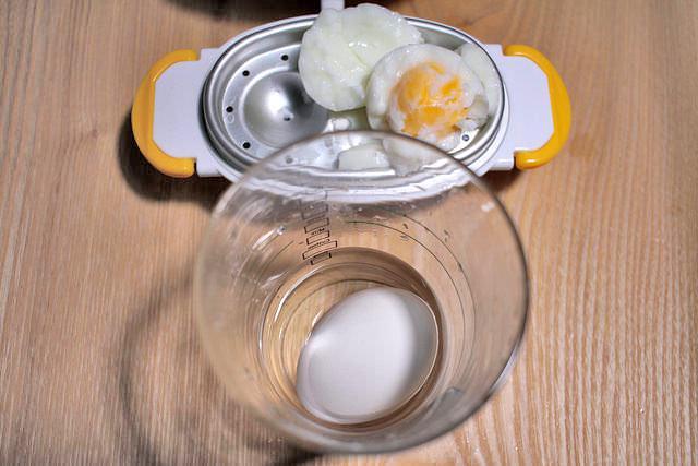13 コップにゆで卵と水再チャレンジ