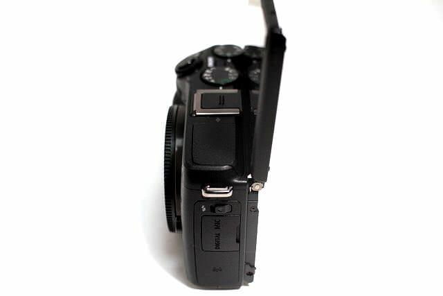 EOS M3 液晶モニター上180度